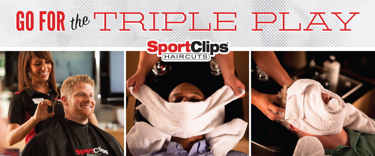 The Sport Clips Haircuts of Mission  Triple Play